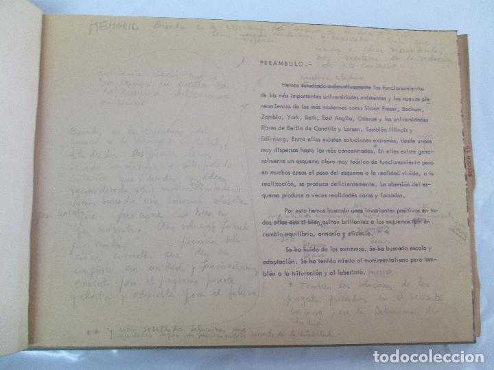 Libros de segunda mano: MEMORIA UNIVERSIDAD AUTONOMA DE MADRID. 21970. ARQUITECTURA PLANOS. VER FOTOGRAFIAS ADJUNTAS - Foto 8 - 95870379
