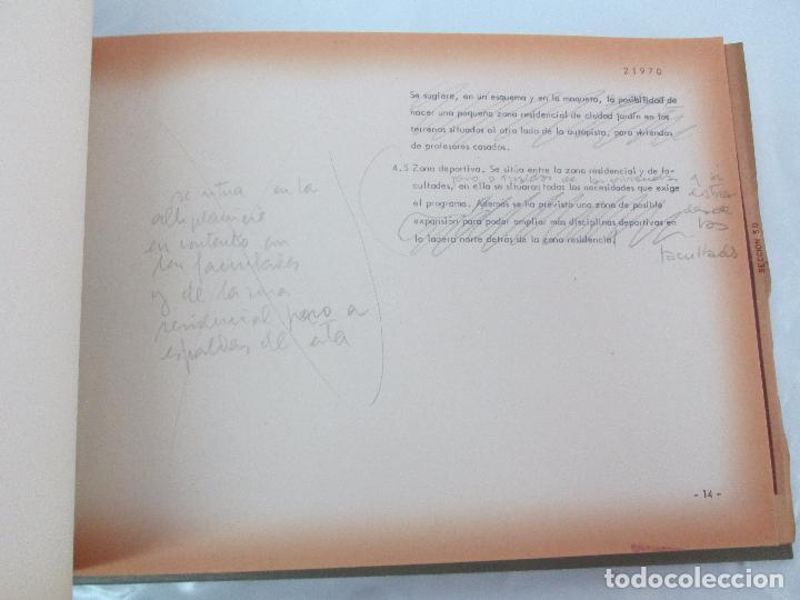 Libros de segunda mano: MEMORIA UNIVERSIDAD AUTONOMA DE MADRID. 21970. ARQUITECTURA PLANOS. VER FOTOGRAFIAS ADJUNTAS - Foto 16 - 95870379