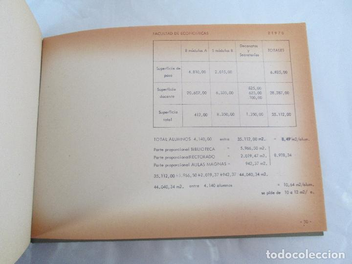 Libros de segunda mano: MEMORIA UNIVERSIDAD AUTONOMA DE MADRID. 21970. ARQUITECTURA PLANOS. VER FOTOGRAFIAS ADJUNTAS - Foto 24 - 95870379