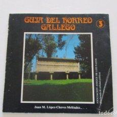 Livros em segunda mão: JUAN M. LÓPEZ-CHAVES MELÉNDEZ. GUÍA DEL HÓRREO GALLEGO. 3. RMT82417. . Lote 95875771