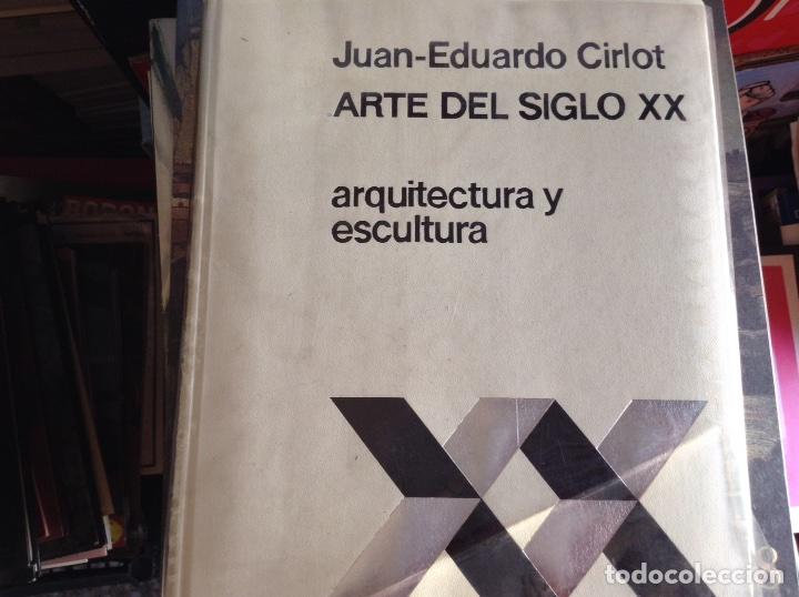 ARQUITECTURA Y ESCULTURA. JUAN EDUARDO CIRLOT (Libros de Segunda Mano - Bellas artes, ocio y coleccionismo - Arquitectura)