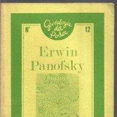 Libros de segunda mano: ERWIN PANOFSKY. ARQUITECTURA GOTICA Y PENSAMIENTO ESCOLASTICO. LA PIQUETA. Lote 96041375