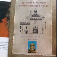 Libros de segunda mano: IGLESIA DE EL,SALVADOR Y SANTO DOMINGO DE SILOS. Lote 96051376