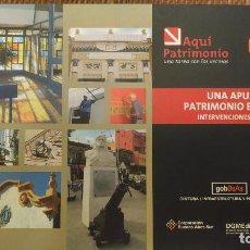 Libros de segunda mano: UNA APUESTA AL PATRIMONIO BARRIAL - CIUDAD DE BUENOS AIRES - INTERVENCIONES 2004/2005. Lote 96197855