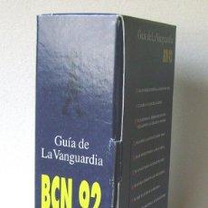 Libros de segunda mano: GUÍA DE LA VANGUARDIA BCN 92. Lote 96753463