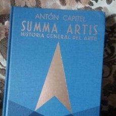 Libros de segunda mano: ARQUITECTURA EUROPEA Y AMERICANA DESPUÉS DE LAS VANGUARDIAS, DE ANTON CAPITEL. SUMMA ARTIS XLI.. Lote 81332304