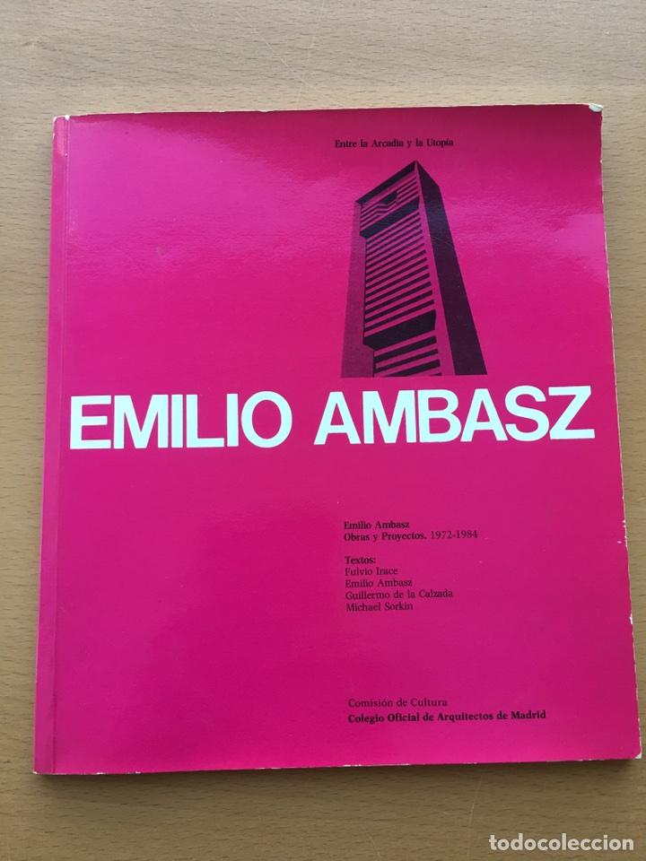 EMILIO AMBASZ. OBRAS Y PROYECTOS 1972-1984 (Libros de Segunda Mano - Bellas artes, ocio y coleccionismo - Arquitectura)