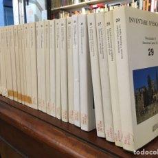 Libros de segunda mano: INVENTARI D'ESGLÉSIES DE CATALUNYA. ARXIU GAVIN. 30 VOLS. OBRA COMPLETA. Lote 98231835