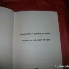 Libros de segunda mano: INGENIEROS Y TORRES DE MARFIL - CROSS, HARDY. Lote 98595975