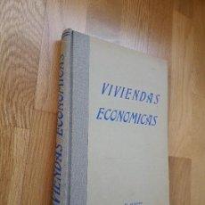 Libros de segunda mano: VIVIENDAS ECONÓMICAS, 1946: UNA SELECCIÓN DE 150 PROYECTOS ORIGINALES DE VIVIENDAS MODERNAS. Lote 99511303