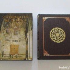 Libros de segunda mano: VV.AA. CATEDRALES DE ESPAÑA IV: SIGÜENZA. ÁVILA. TARRAGONA. SEVILLA. CÓRDOBA. RM83605. . Lote 99591379