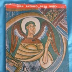 Libros de segunda mano: TEORÍA DEL ROMÁNICO JUAN ANTONIO GAYA NUÑO PUBLICACIONES ESPAÑOLAS, MADRID (1962) 174PP. Lote 99660695