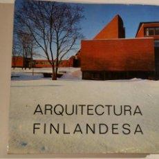 Libros de segunda mano: ARQUITECTURA FINLANDESA EN OTANIEMI 1971 POLIGRAFA AALTO, SIREN, PIETILÄ. Lote 100162926