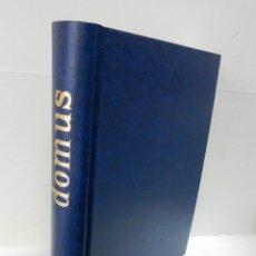 Libros de segunda mano: DOMUS REVISTA ARQUITECTURA DISEÑO Nº 782 A 784 ITALIANO ENGLISH ENCUADERNADA EXCELENTE SIMIL PIEL . Lote 100622767