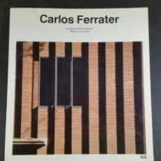 Libros de segunda mano: CARLOS FERRATER GUSTAVO GILÍ 1989. Lote 100671108