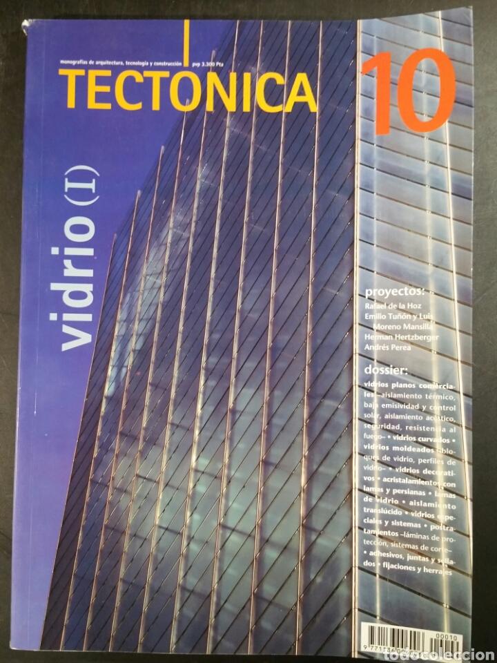 REVISTA TECTÓNICA Nº 10 - VIDRIO (I) - RAFAEL DE LA HOZ, TUÑÓN Y MANSILLA, H. HETZBERGER, A. PEREA (Libros de Segunda Mano - Bellas artes, ocio y coleccionismo - Arquitectura)