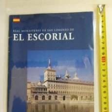 Libros de segunda mano: LIBRITO DEL MONASTERIO DEL ESCORIAL DEL AÑO 2000. Lote 101026839