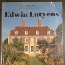 Libros de segunda mano: EDWIN LUTYENS ARCHITECTURAL MONOGRAPHS 1986. Lote 101086054