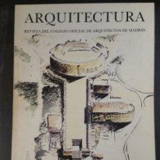 Libros de segunda mano: REVISTA ARQUITECTURA COAM 247 1984 CONCURSO BARCELONA 92. Lote 101120706