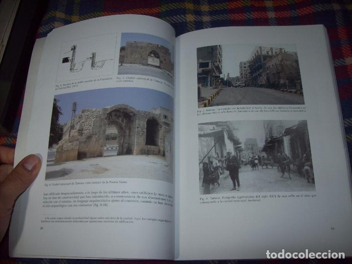 Libros de segunda mano: TARTOUS ( SIRIA).REHABILITACIÓN DEL CASCO ANTIGUO DE TARTOUS. 2002.EXCELENTE EJEMPLAR.ÚNICO EN TC - Foto 14 - 135769263