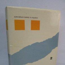 Libros de segunda mano: PATOLOGIA DE CERRAMIENTOS Y ACABADOS ARQUITECTONICOS 2. JUAN MONJO CARRIO. ED. MUNILALERIA 1994. Lote 101436271