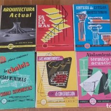 Libros de segunda mano: LOTE DE 6 MONOGRAFIAS CEAC SOBRE CONSTRUCCION Y ARQUITECTURA. Lote 101679147