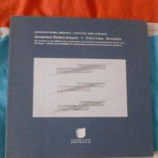 Libros de segunda mano: AFORISMOS ESTRUCTURALES - STRUCTURAL APHORISMS. RUI-WAMBA, JAVIER: FUND. ESTEYCO.1988 164PP. Lote 222283607