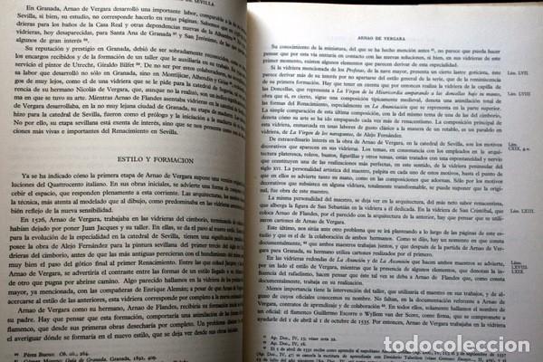 Libros de segunda mano: LAS VIDRIERAS DE LA CATEDRAL DE SEVILLA - VICTOR NIETO ALCALDE - MUY ILUSTRADO - GRAN FORMATO - Foto 5 - 102004183