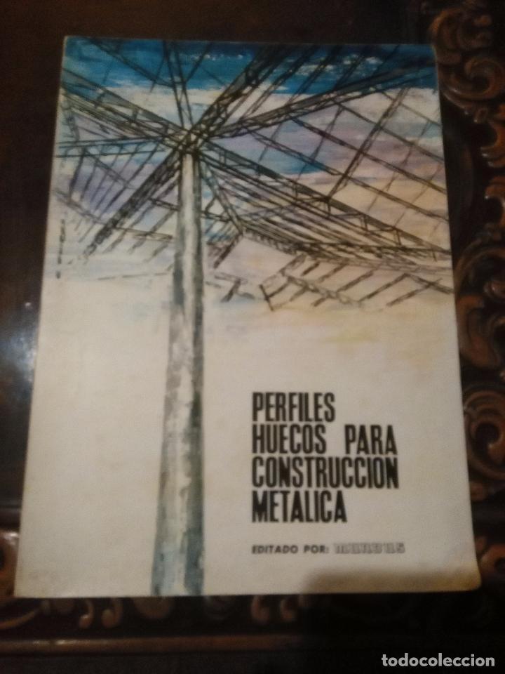 MUNDUS - PERFILES HUECOS PARA CONSTRUCCION METALICA - FOTOS A BLANCO Y NEGRO 1966 (Libros de Segunda Mano - Bellas artes, ocio y coleccionismo - Arquitectura)