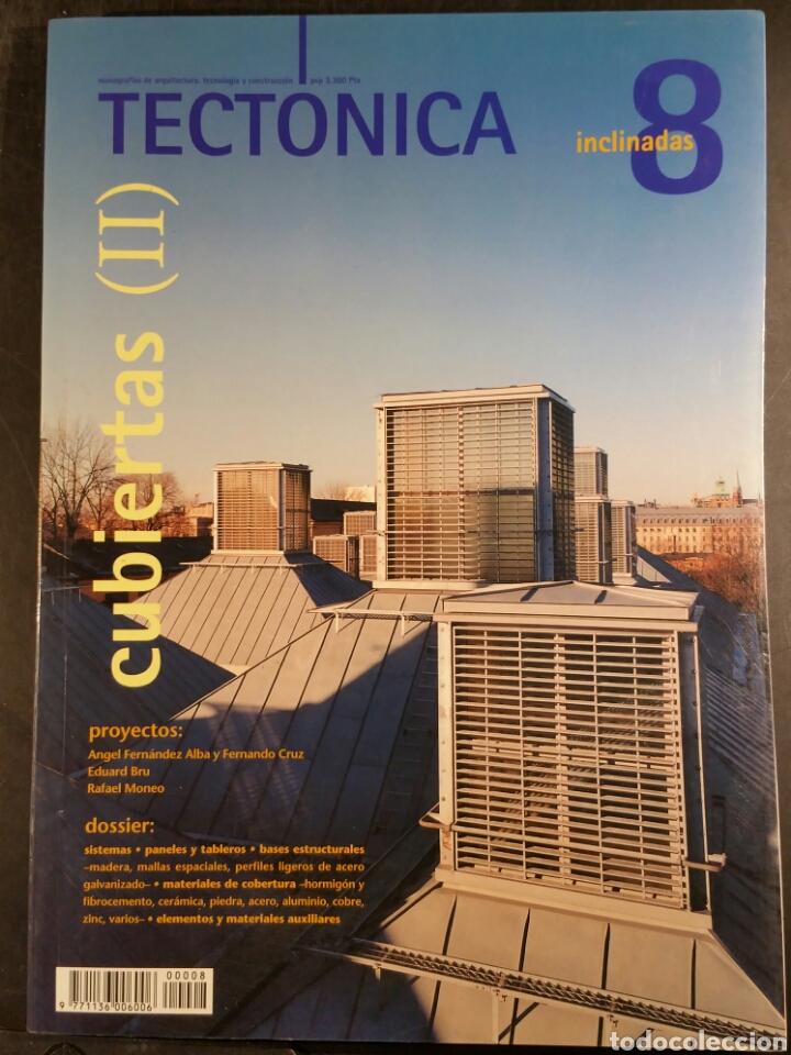 TECTONICA 8 CUBIERTAS INCLINADAS II (Libros de Segunda Mano - Bellas artes, ocio y coleccionismo - Arquitectura)