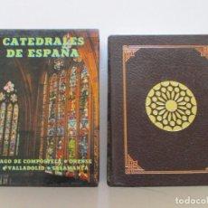 Libros de segunda mano: CATEDRALES DE ESPAÑA I: SANTIAGO DE COMPOSTELA. ORENSE. LEÓN. VALLADOLID. SALAMANCA. RM84314.. Lote 102666055