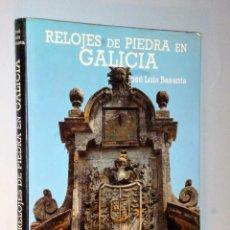 Libros de segunda mano: RELOJES DE PIEDRA EN GALICIA. Lote 102738803