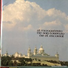 Libros de segunda mano: EL MONASTERIO DE SAN LORENZO DE EL ESCORIAL. Lote 103173340