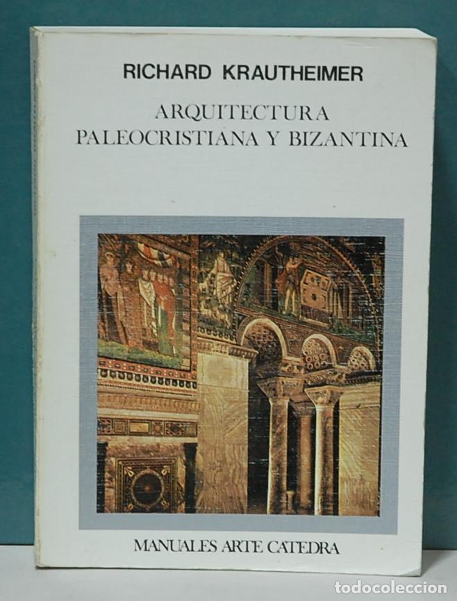 ARCHITETTURA TARDOANTICA, Storia dell'Architettura I