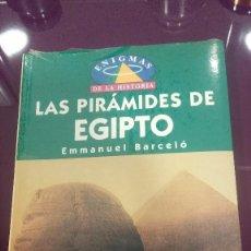 Livros em segunda mão: EL ENIGMA DE LAS PIRAMIDES. Lote 104735615