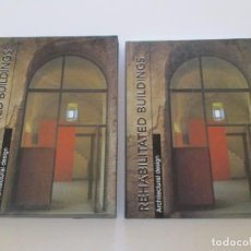 Libros de segunda mano: CARLES BROTO. ARCHITECTURAL DESIGN. REHABILITATED BUILDINGS. RM84649. . Lote 104766315