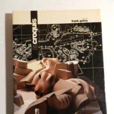 Libros de segunda mano: EL CROQUIS 74/75 CONVERSACIONES CON FRANK O. GEHRY 1995 ARQUITECTURA. Lote 187116645