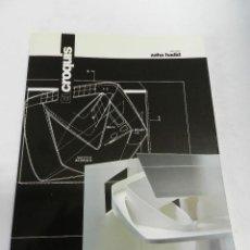 Libros de segunda mano: EL CROQUIS 73 VOL. 1 (I) AÑO 1995, ARQUITECTURA DISEÑO ZAHA HADID. Lote 187116713