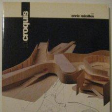 Libros de segunda mano: EL CROQUIS 72 VOL 2 (II) ENRIC MIRALLES 1995 ARQUITECTURA DIFICIL. Lote 187117051