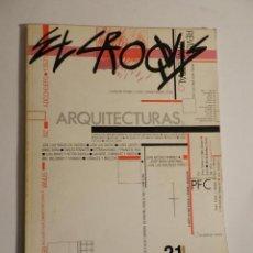 Libros de segunda mano: EL CROQUIS 21, MAYO-JULIO 1985 ARQUITECTURA DISEÑO . Lote 158593046