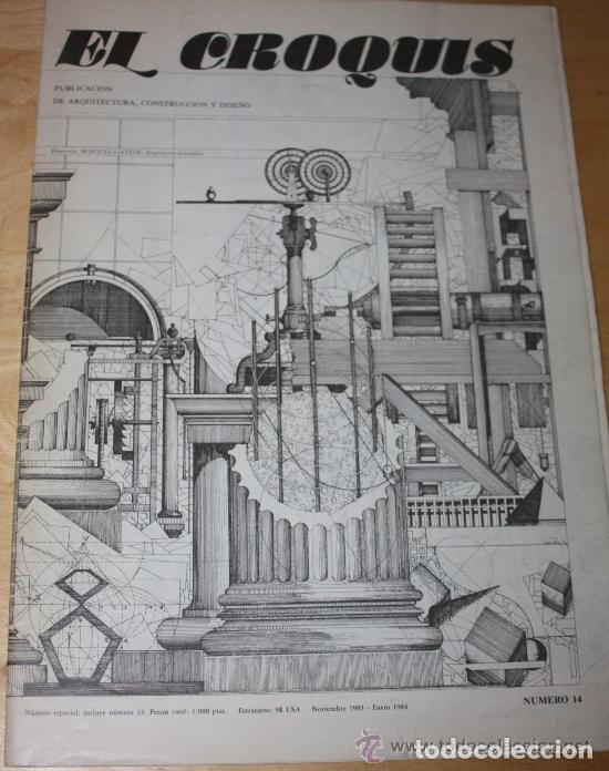 EL CROQUIS 14 - MARQUEZ Y LEVENE, ARQUITECTOS. 1983/1984 ARQUITECTURA (UN EJEMPLAR) (Libros de Segunda Mano - Bellas artes, ocio y coleccionismo - Arquitectura)
