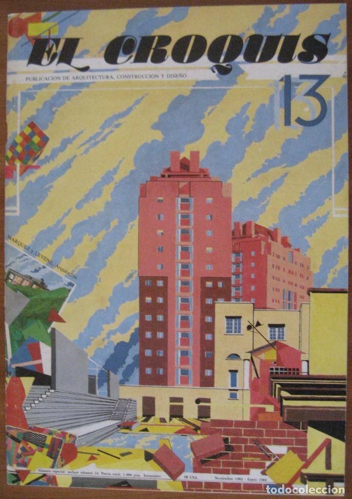 Libros de segunda mano: EL CROQUIS 14 - MARQUEZ Y LEVENE, ARQUITECTOS. 1983/1984 ARQUITECTURA (UN EJEMPLAR) - Foto 2 - 206225748