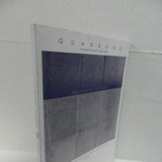 Libros de segunda mano: QUADERNS, D'ARQUITECTURA I URBANISME 156 DISEÑO CRÓNICA DIBUJOS FOTOGRAFÍAS PLANOS. Lote 194289397