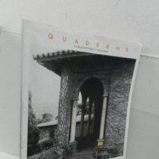 Libros de segunda mano: QUADERNS, D'ARQUITECTURA I URBANISME 150 DISEÑO CRÓNICA DIBUJOS FOTOGRAFÍAS PLANOS. Lote 194289316