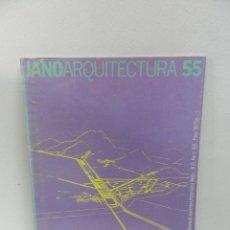 Libros de segunda mano: JANO 55 MARZO 1978 REVISTA DE ARQUITECTURA INTERIORISMO Y DISEÑO (ARQUITECTURA & HUMANIDADES). Lote 104960515