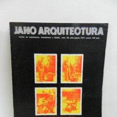Livros em segunda mão: JANO 49 JULIO-AGOSTO 1977 REVISTA DE ARQUITECTURA INTERIORISMO Y DISEÑO (ARQUITECTURA & HUMANIDADES). Lote 104961183