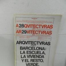 Libros de segunda mano: ARQUITECTURAS BIS Nº 28 29 ARQUITECTURA DISEÑO . Lote 104965691