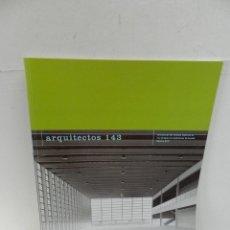 Libros de segunda mano: ARQUITECTOS N 143 REVISTA DEL CSCAE ARQUITECTURA. Lote 105135847