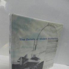 Libri di seconda mano: THE DETAILS OF MODERN ARCHITECTURE: 1928 TO 1988 - VOLUME 1 1990 EDWARD R FORD ARQUITECTURA. Lote 105178447