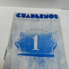 Libros de segunda mano: CUADERNOS DE ARQUITECTURA Y URBANISMO 080 SOBRE HISTORIA URBANA DE BARCELONA 1971. Lote 105275339